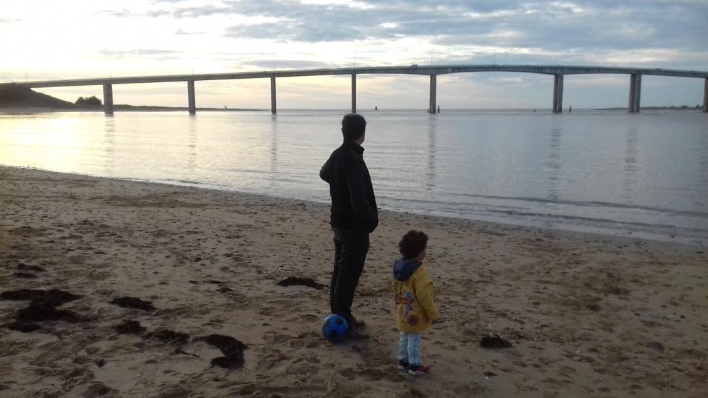 Pont de Noirmoutier vu de Fromentine La Barre de Monts