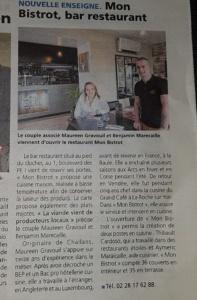 restaurant Mon Bistrot Challans