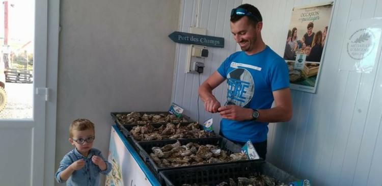 Huîtres Port des Champs