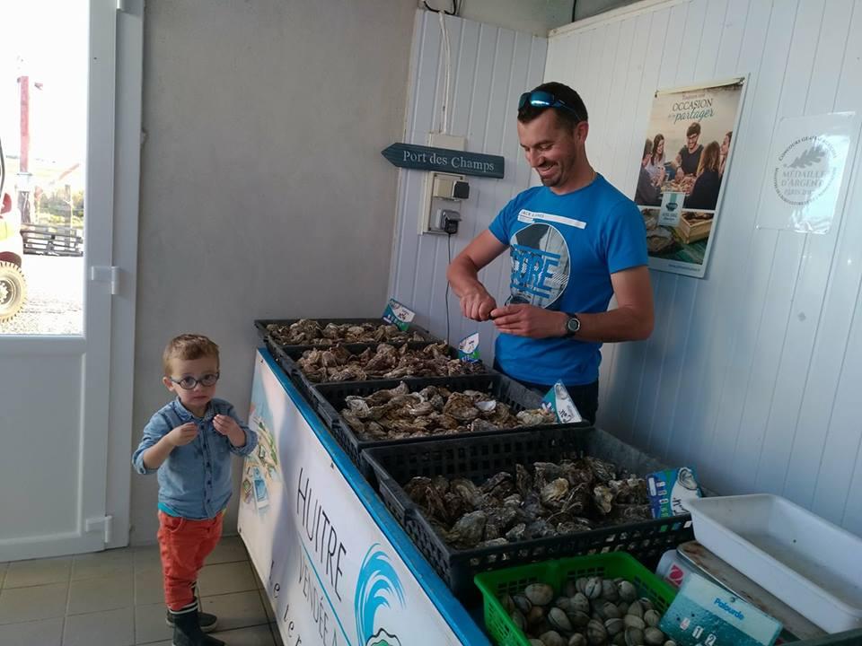 huîtres vendée bouin Raimbaud Baptiste Port des Champs
